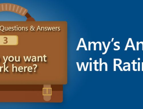 Sample Interview Questions and Answers: Why Do You Want To Work Here? Amy's Answer