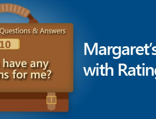 Sample interview questions and answers: Do you have any questions for me? Margaret's answer