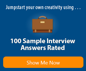 100 Sample Interview Answers Rated